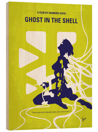 Wood print  Ghost In The Shell - chungkong