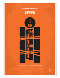 Poster No330 My SPEED minimal movie poster