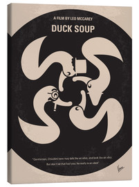 Canvas print  No370 My Duck Soup minimal movie poster - chungkong