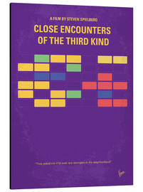 Aluminium print  Close Encounters Of The Third Kind - chungkong