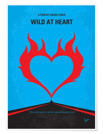 Poster  No337 My WILD AT HEART minimal movie poster - chungkong
