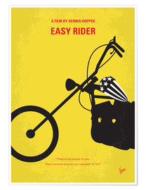 Premium poster No333 My EASY RIDER minimal movie poster