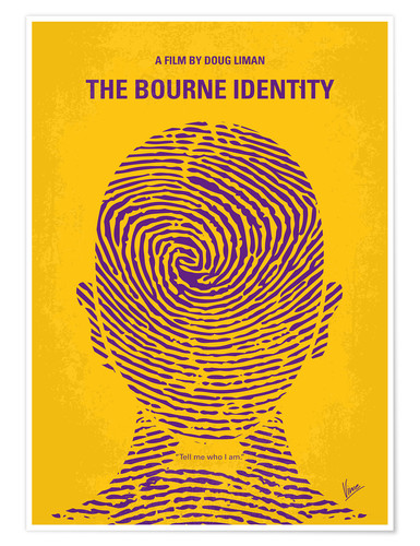 Premium poster The Bourne Identity