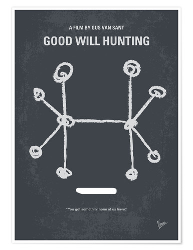 Premium poster Good Will Hunting