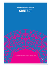 Premium poster No416 My Contact minimal movie poster