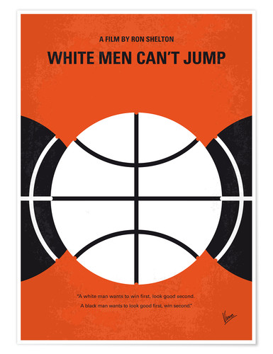 Premium poster White Men Can't Jump