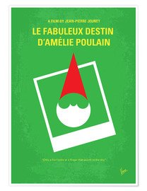 Premium poster No311 My Amelie minimal movie poster