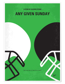Premium poster Any Given Sunday
