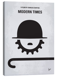 Canvas  No325 My MODERN TIMES minimal movie poster - chungkong