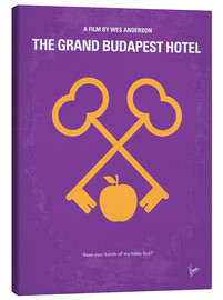 Canvas print  No347 My The Grand Budapest Hotel minimal movie poster - chungkong