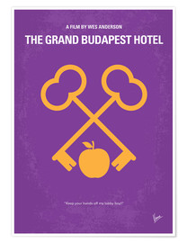 Premium poster  No347 My The Grand Budapest Hotel minimal movie poster - chungkong