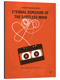 Alu-Dibond  No384 My Eternal Sunshine of the Spotless Mind minimal movie poster - chungkong