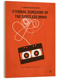Wood print  Eternal Sunshine of the Spotless Mind - chungkong