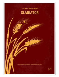 Poster No300 My GLADIATOR minimal movie poster