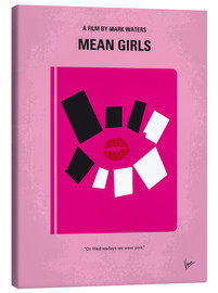 Canvas print  No458 My Mean Girls minimal movie poster - chungkong