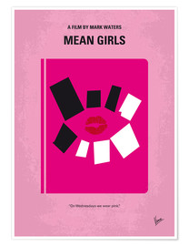 Premium poster  No458 My Mean Girls minimal movie poster - chungkong