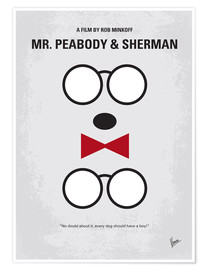 Premium poster No324 My MrPeabody minimal movie poster