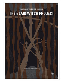 Premium poster No476 My The Blair Witch Project minimal movie poster