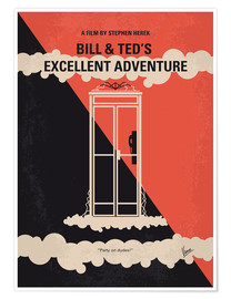 Premium poster Bill & Ted's Excellent Adventure