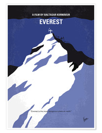 Premium poster  No492 My Everest minimal movie poster - chungkong