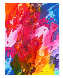Premium poster  Colorful abstraction