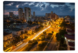 Canvas print  View of Havana - Alex Saberi