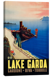 Canvas print  Lake Garda - Anonym