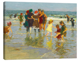 Canvas print  beach scene - Edward Henry Potthast