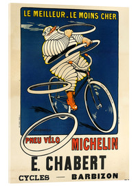 Acrylic print  Bicycle tires Michelin - H.L. Roowy