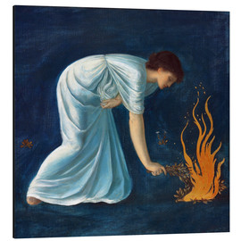 Aluminium print  Hero - Edward Burne-Jones