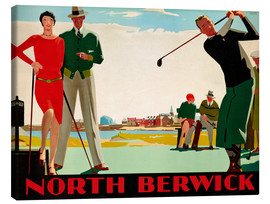 Canvas print  North Berwick Golf Club - Andrew Johnson