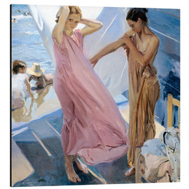 Alu-Dibond  After Bathing, Valencia  - Joaquin Sorolla y Bastida