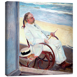 Canvas print  Antonio García at the Beach - Joaquín Sorolla y Bastida