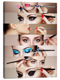 Canvas  Make-up routine II