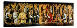 Acrylic print  Musician Angels - Hans Memling