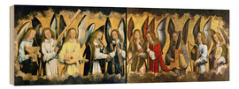 Wood  Christ with angels - Hans Memling