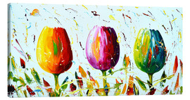 Canvas print  Tulips light - Theheartofart Gena