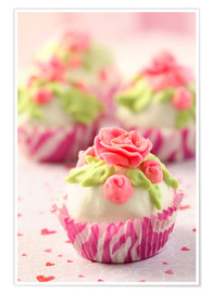 Premium poster  Lovely Cupcakes