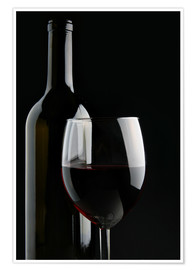 86d23574e Premium poster Good red wine