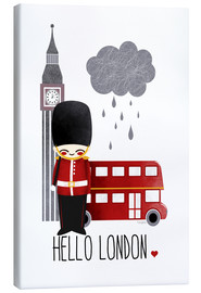 Canvas print  hello london - Kanzilue