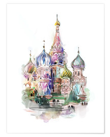 Premium poster St. Basil's Cathedral