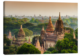 Canvas print  Temple of Bagan in Mandalay, Myanmar