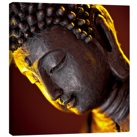 Canvas print  the face of a Buddha