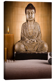 Canvas print  the voice of the Buddha