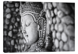 Canvas print  Ancient Buddha in Ubonratchatani, Thailand