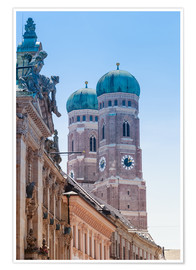 Poster  The Frauenkirche in Munich