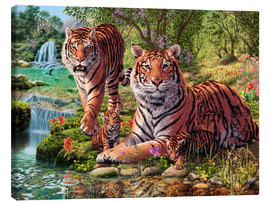 Canvas print  Tiger Clan - Steve Read