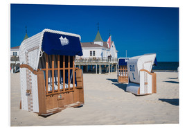 Forex  Beach chairs on the beach of Usedom in Ahlbeck