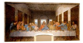 Acrylic glass  The Last Supper - Leonardo da Vinci