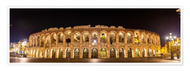 Arena of Verona at night
